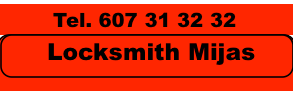 Locksmith Mijas 24/7